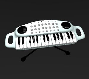 3D synthesizer cartoon