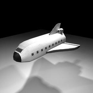 space rocket model