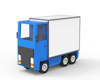 Cartoon freight car 2