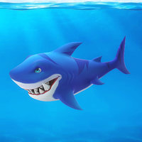 Cartoon Shark 02