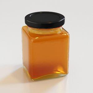 3D honey jar