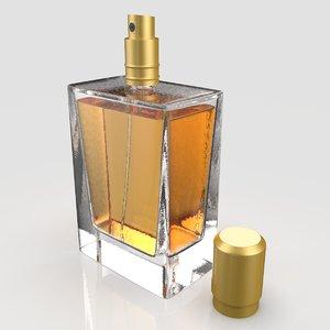 3D generic perfume bottle