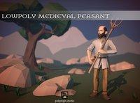 Lowpoly Medieval Peasant