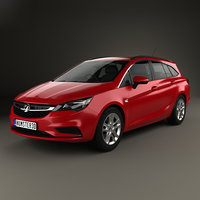 Vauxhall Astra (K) Sports Tourer Design 2016