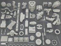 Kit bash(54 pieces) - collection-9