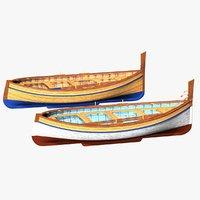 fishing rowing boat spanish model