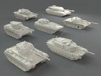 Tanks(7 pieces) - part-2