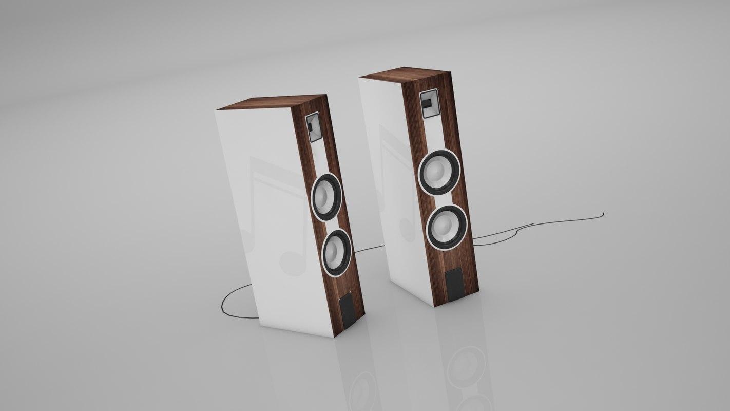 speaker buffer 3D
