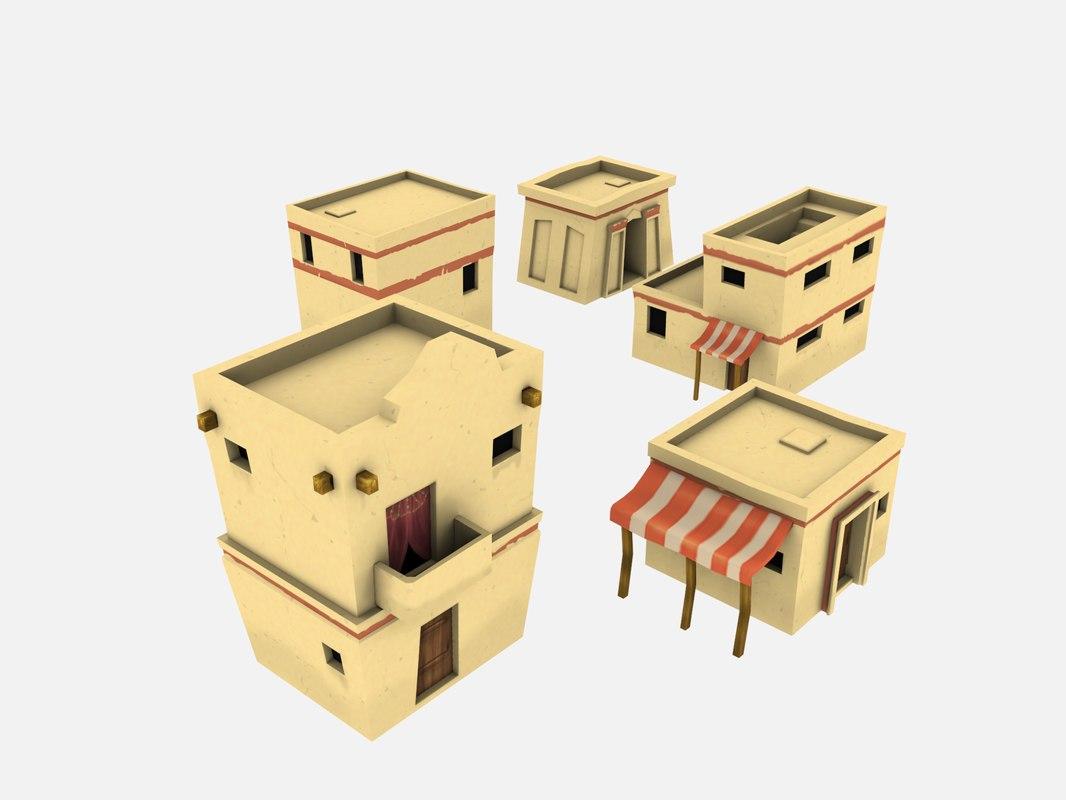 arabian arab house 3D model