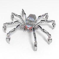 3d model robot spider