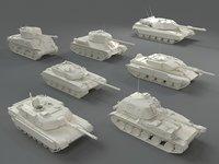 Tanks(7 pieces) - part-3