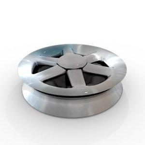 3D pulley wheel