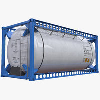 ISO 20ft Insulated Liquid Tank