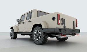 2019 jeep truck 3D