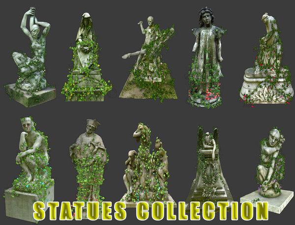 3D statues