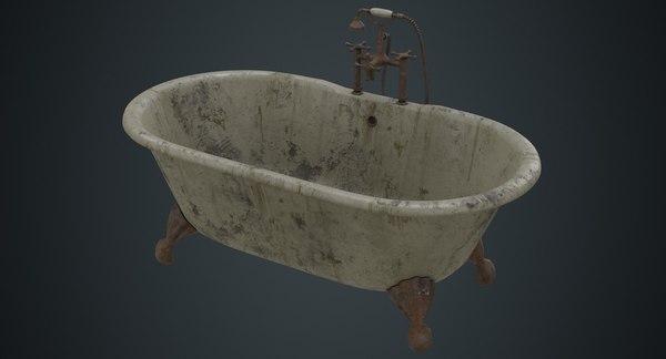 bath 2b 3D model