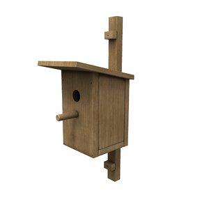 3D bird s house b model