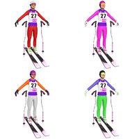 Skiers Female PACK