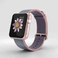 3D apple watch rose model