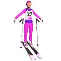 Skier Female 2