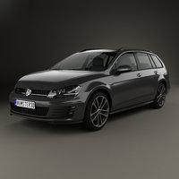Volkswagen Golf GTD Variant 2015