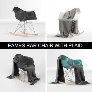 charles eames design plastic 3D model