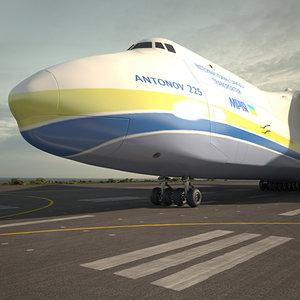 3D antonov an-225 225 model