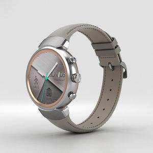 asus zenwatch watch 3D model