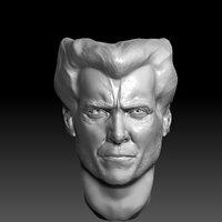 Hugh Jackman Head