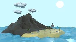 island land 3D model
