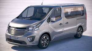 opel vivaro passenger model