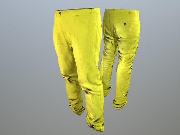 pants loose fit pack model