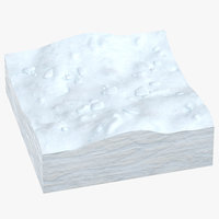 snow cross section 04 3D model
