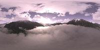 Morning Mountains HDRI Sky