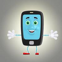 cartoon phone 2