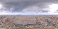 Noon Desert HDRI Sky
