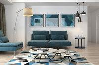 3D living room vrayforc4d 3