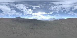 Late Morning Desert HDRI Sky