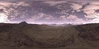 Early Evening Desert HDRI Sky