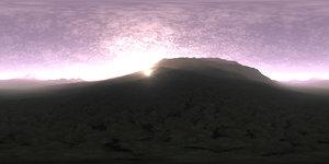Morning Hill HDRI Sky