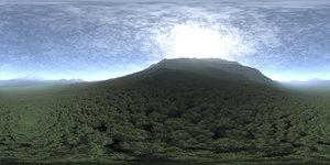 Before Noon Hill HDRI Sky