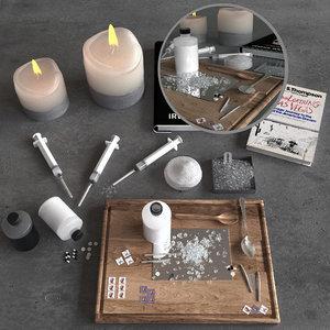 3D drug set