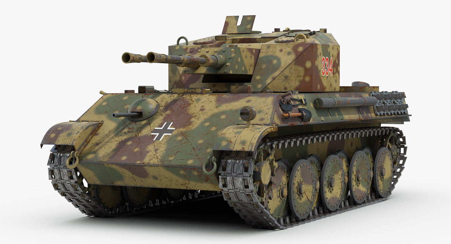 3d model ww2 german v coelian
