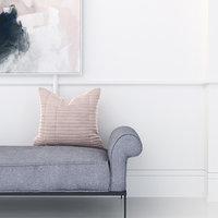 3D velvet cushion model