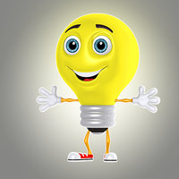 cartoon bulb 1
