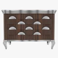 3d model jumbo chest drawers