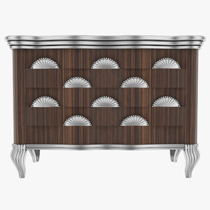 3d model jumbo chest drawers