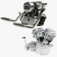 harley-davidson engine twin model