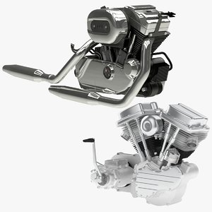 harley-davidson engine twin model