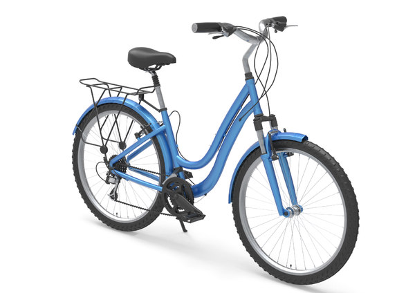 3D model city bike